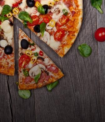 Пицца и пироги
