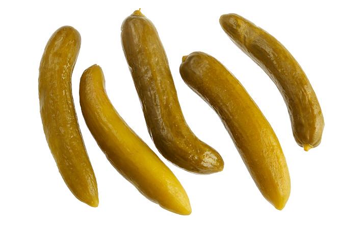 Огурчики соленые