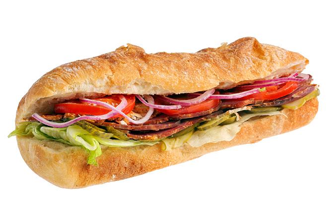Сэндвич-чиабатта с говядиной