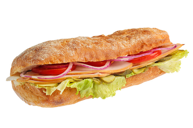 Сэндвич-чиабатта с индейкой