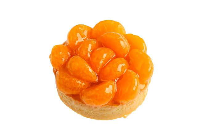 Тарталетка с мандарином