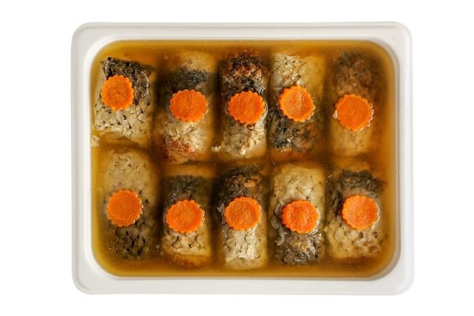 Фарш рыба по одесски со свеклой и морковью