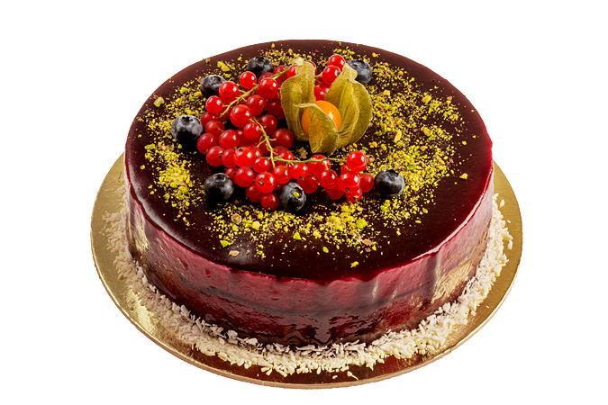 Торт Ежевично-смородиновый(парве)