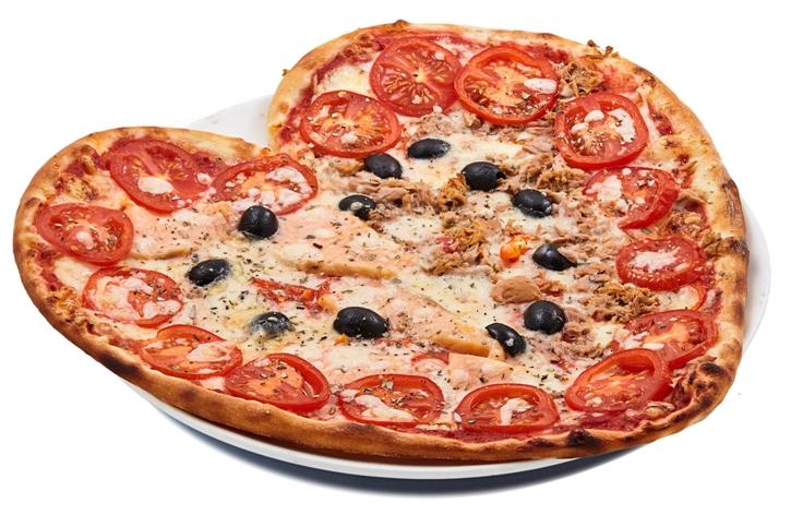 Пицца Сердце Pinhas