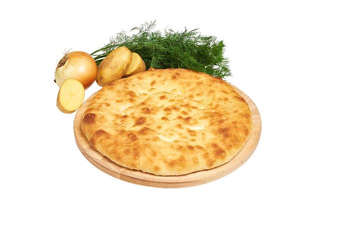 Пирог Осетинский с картофелем
