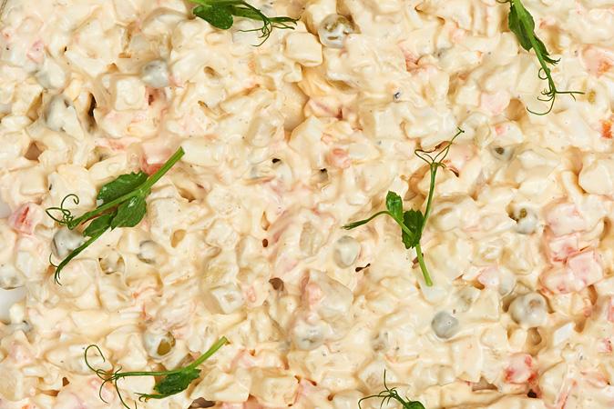 Оливье овощной