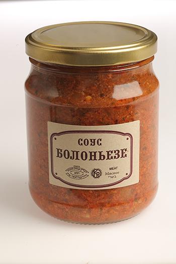 Соус Болоньезе (соте из мяса птицы)