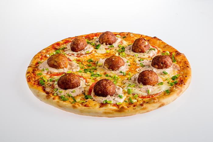 Пицца «Алеф» (с фрикадельками) Pinhas