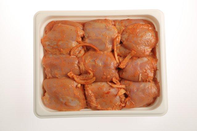 Шашлык из куриных окорочков (филе бедра) п/ф охлажденный